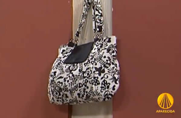 Bolsa Feita De Tecido Passo A Passo : Como fazer bolsa de tecido passo a tv artesanato