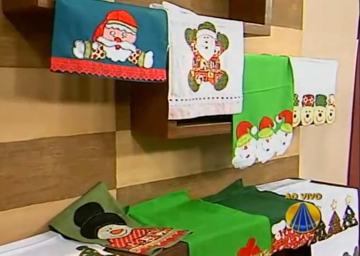 Aprenda a fazer um panô de Papai Noel em Patch Apliquê