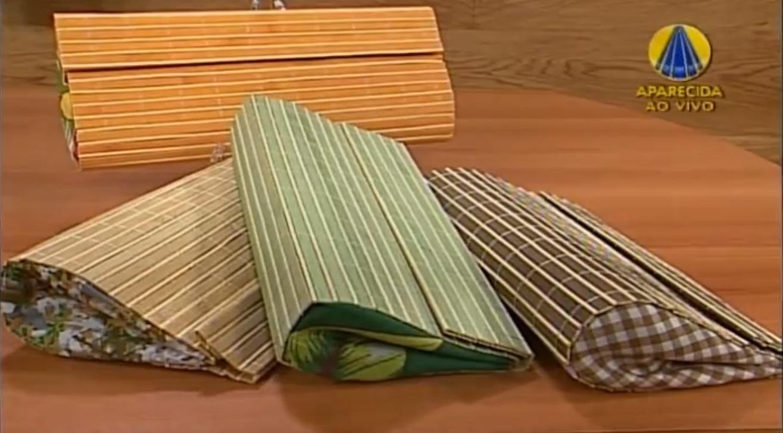 3032c045f Aprenda a fazer uma belíssima bolsa carteira com bambu