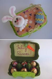 caixinha de ovos