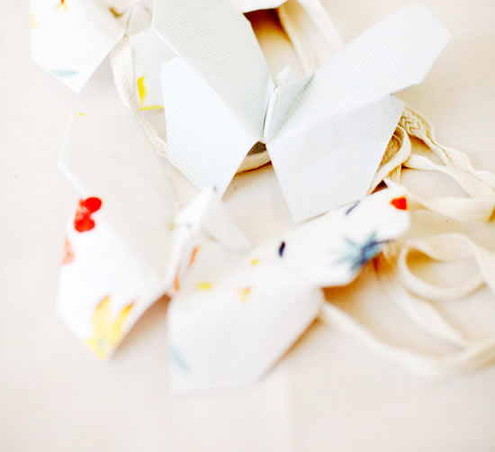 Borboleta de origami passo a passo