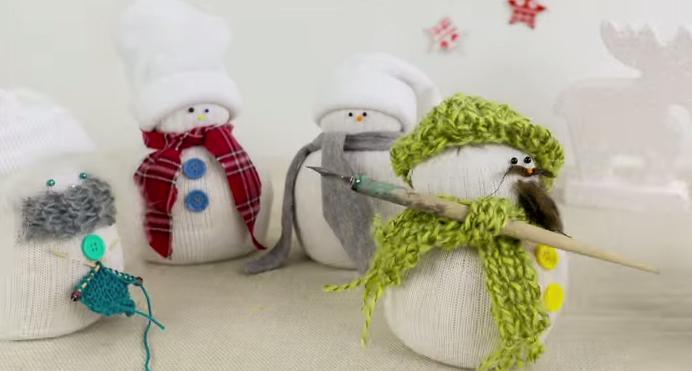 bonecos de neve prontos