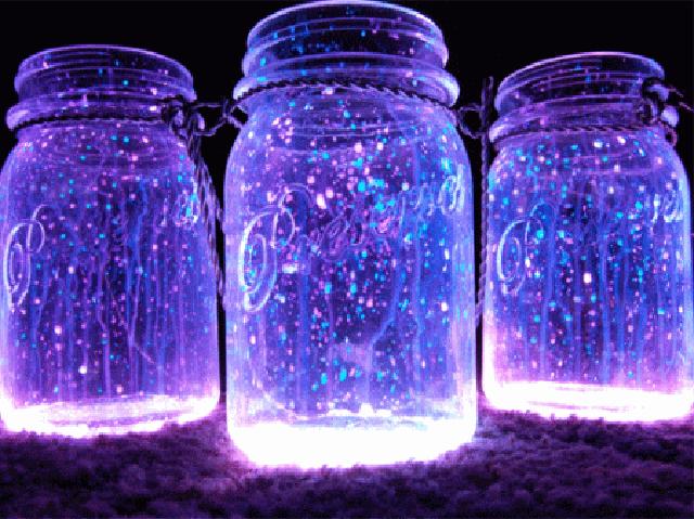 Como fazer potes de estrelas para decorar festas