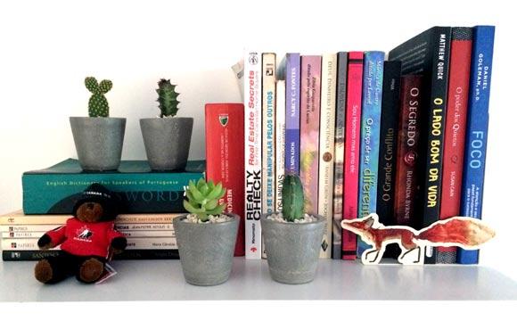 decoração de Como fazer vasos de cimento