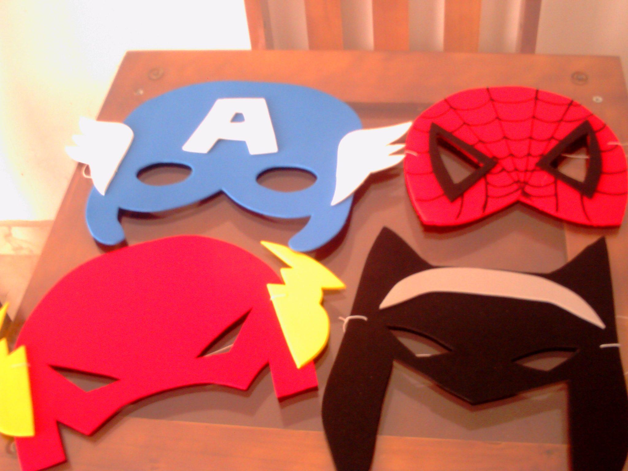 como fazer máscaras em EVA com molde