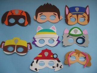 como fazer máscara em EVA