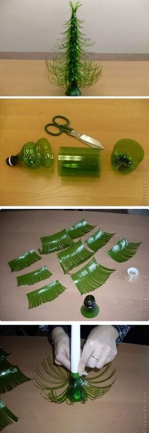 passo a passo para arvore de natal de garrafa pet (1)