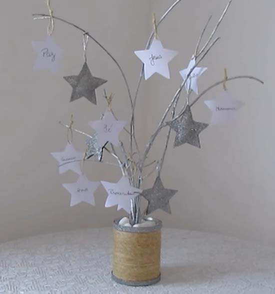 Árvore dos Desejos em EVA com moldes