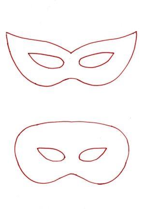 Como Fazer Máscaras De Carnaval Com Moldes Muito Simples