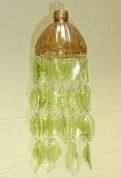 luminária de garrafa PET