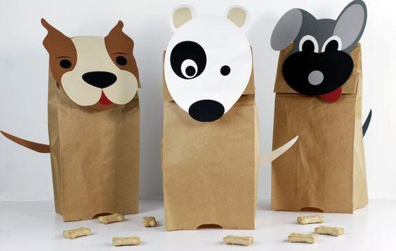 Como fazer sacolinhas personalizadas de bichinhos